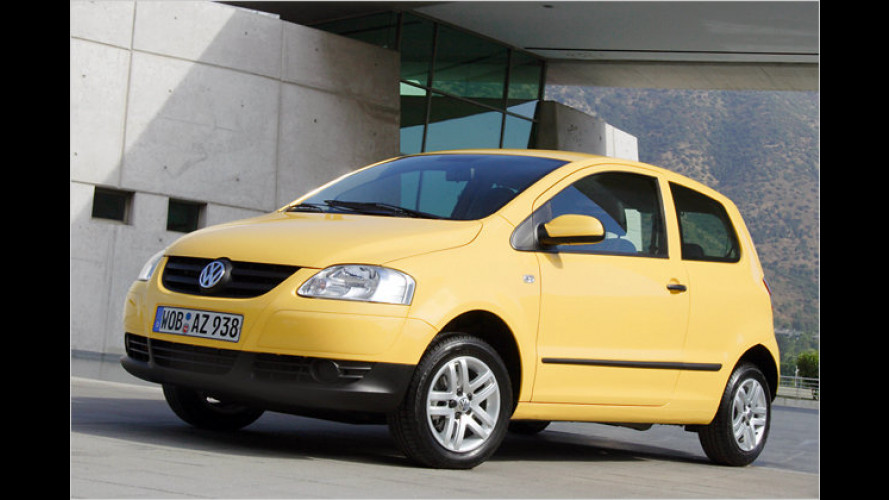 VW Fox jetzt stärker und sparsamer