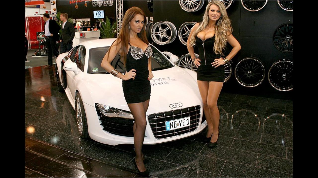 Nicht nur Autos wachsen in ihren Dimensionen, auch die Felgenhersteller präsentieren immer größere Exemplare