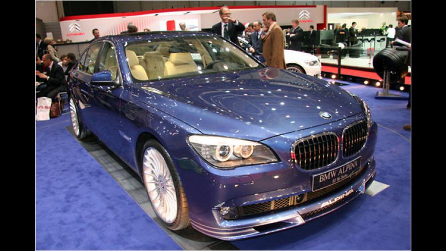 Die luxuriösesten Fahrzeuge des Genfer Auto-Salons 2009