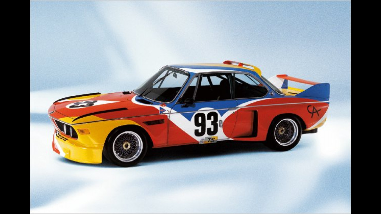 BMW 3.0 CSL: Alexander Calder (1975)