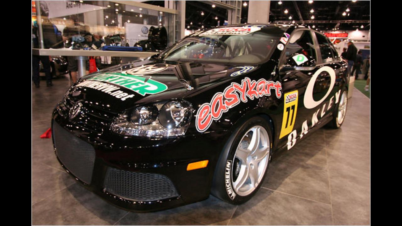 VW Jetta TDI Cup Racecar