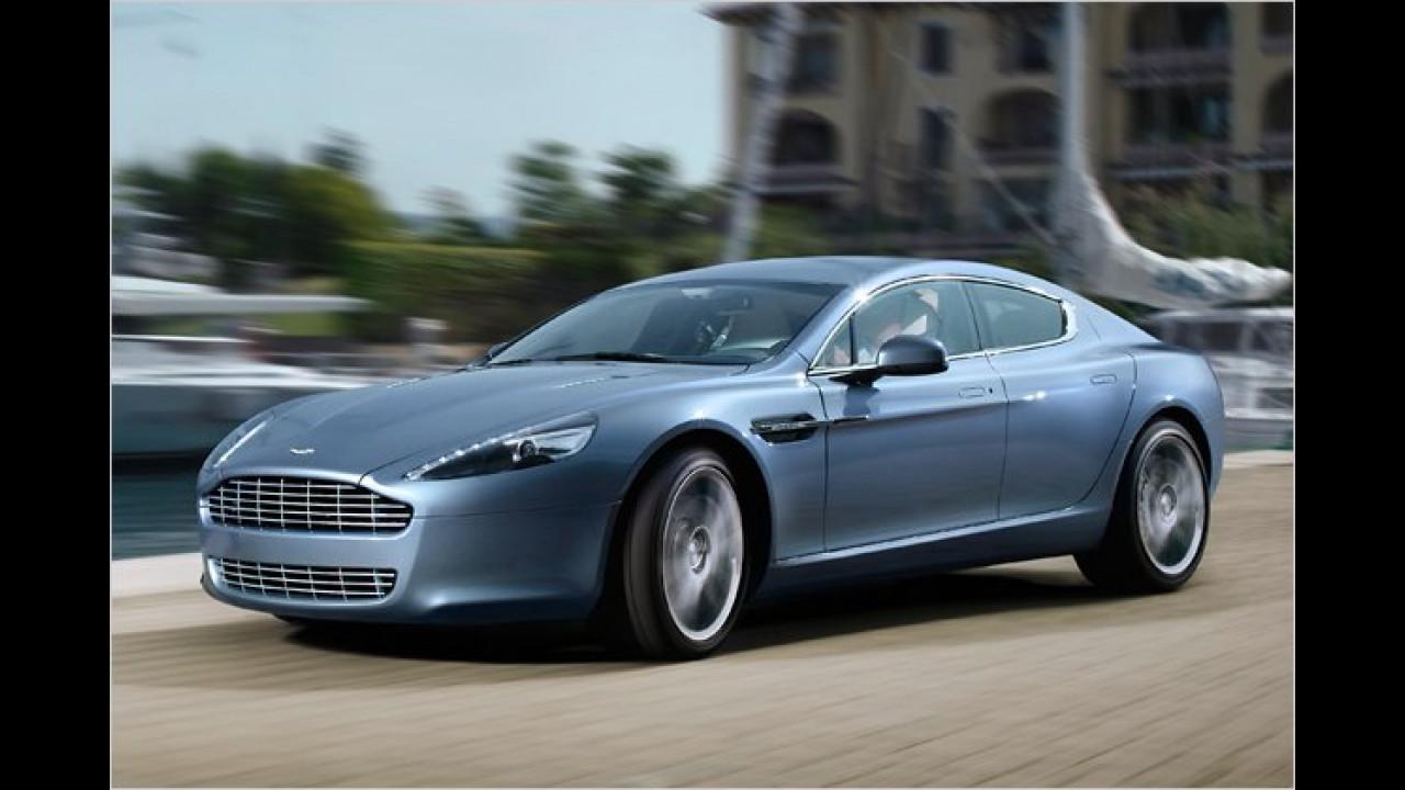 15. Platz: Aston Martin Rapide