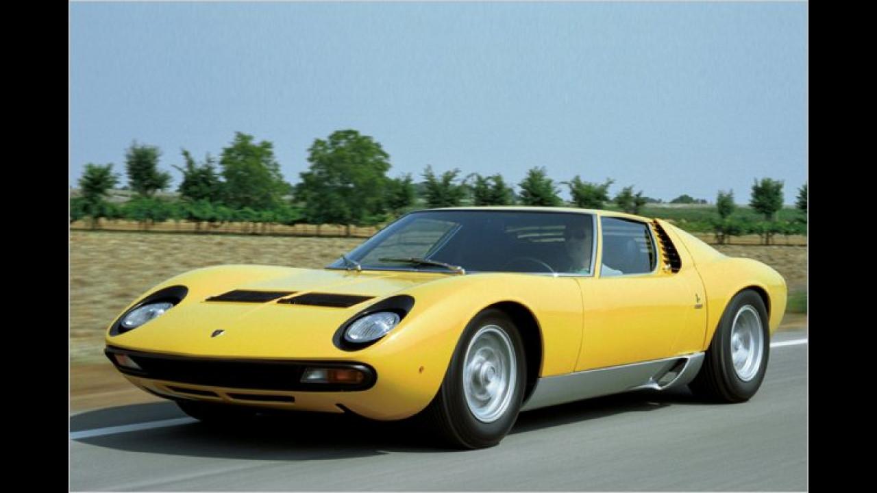 21. Platz: Lamborghini Miura