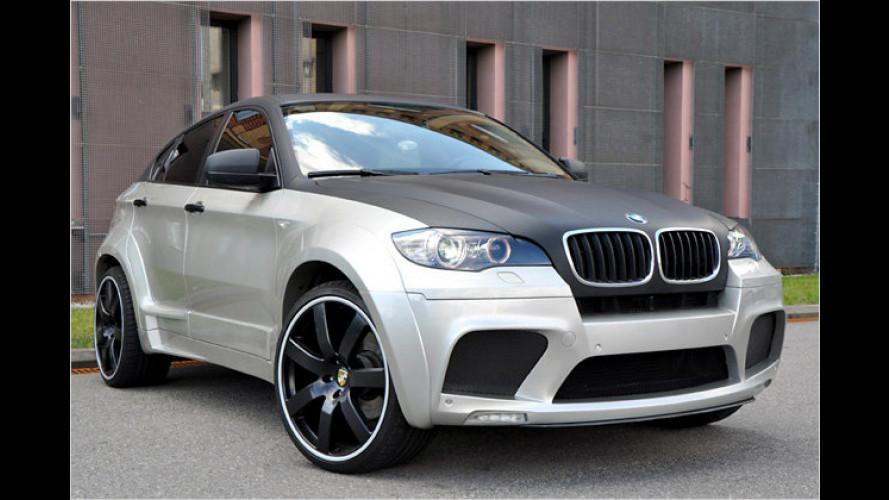 Der BMW X6 von Enco macht sich breit