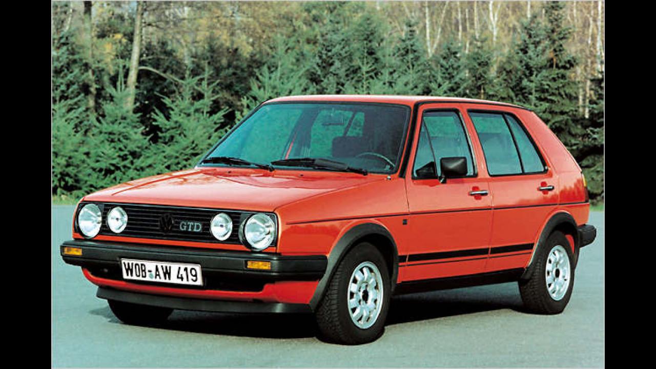 1984: VW Golf II GTD