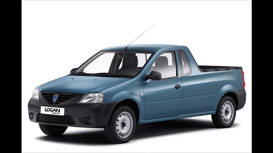 Jetzt als Pick-up: Vierte Variante des Dacia Logan kommt
