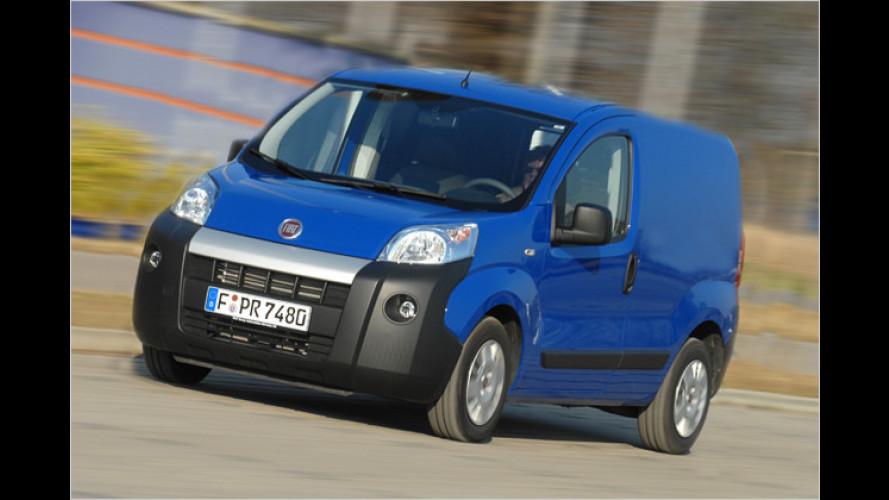 Fährt auch mit Erdgas: Fiat Fiorino mit bivalentem Antrieb