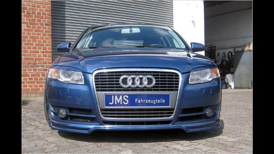 JMS verpasst dem Audi A4 eine modifizierte Front