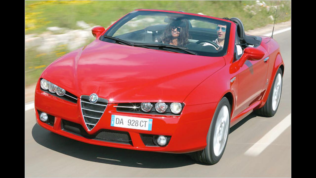 Die Neuauflage des Alfa Romeo Spider feierte 2006 auf dem Genfer Auto-Salon ihre Premiere