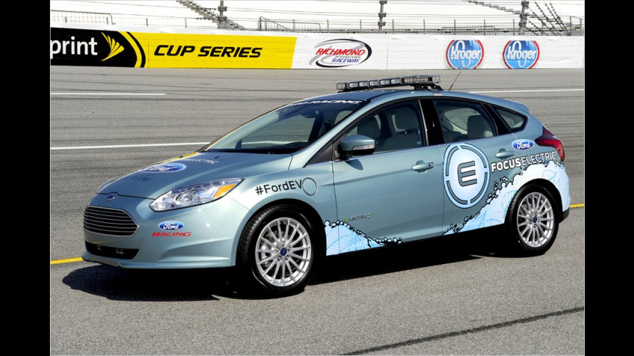 Ford Focus Electric als Pace Car