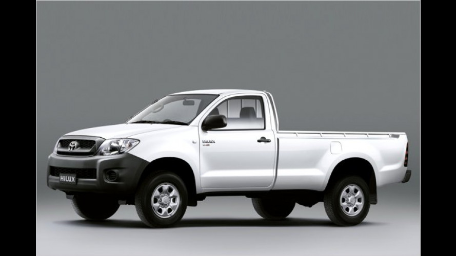 4x4 für Hilux Single Cab