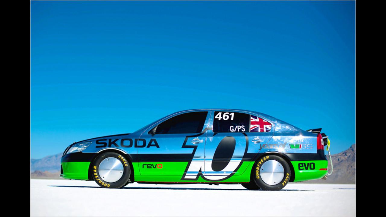 Skoda auf Speed