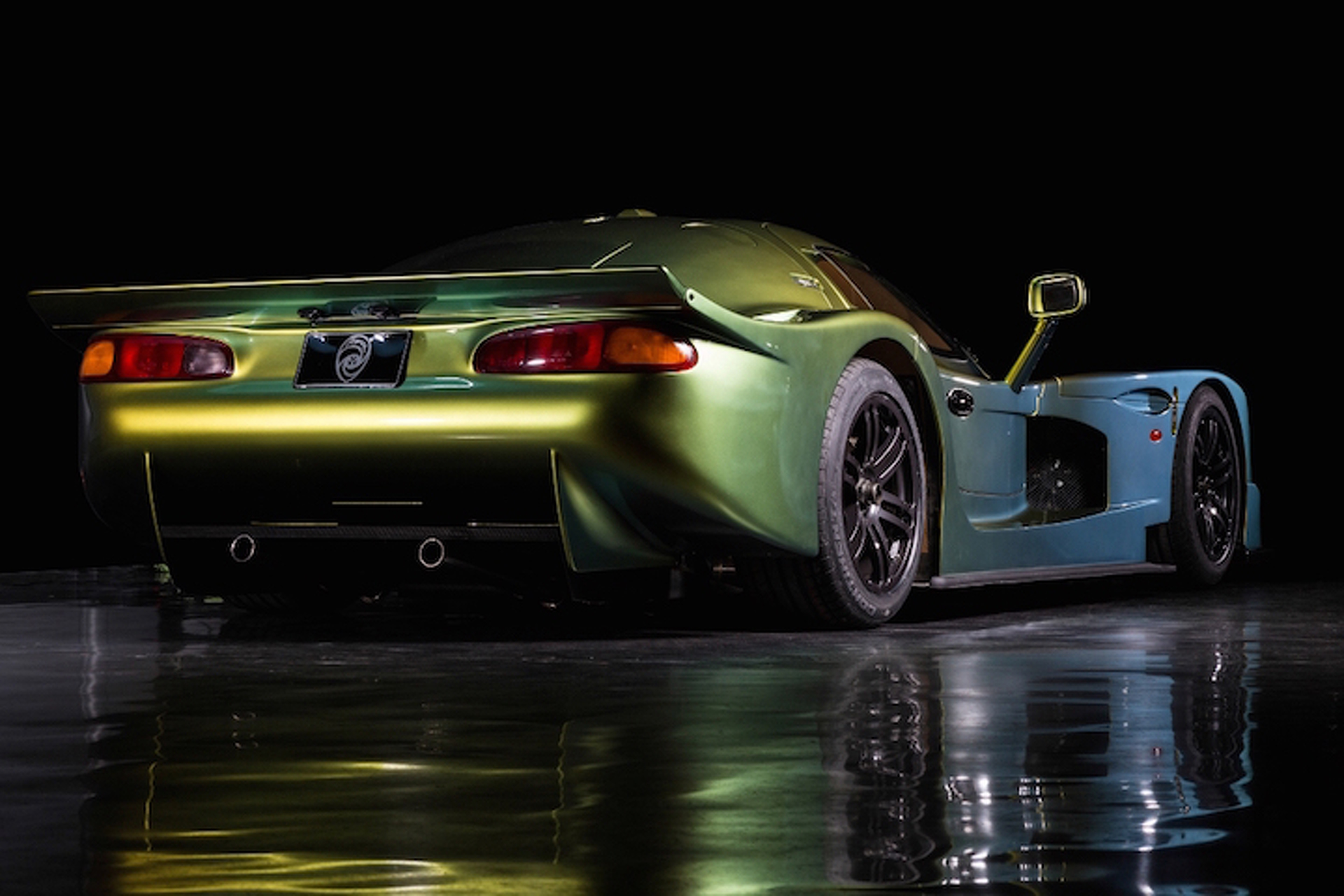 Restored Panoz Esperante GTR-1 Supercar is Big, Bold, and Bronze