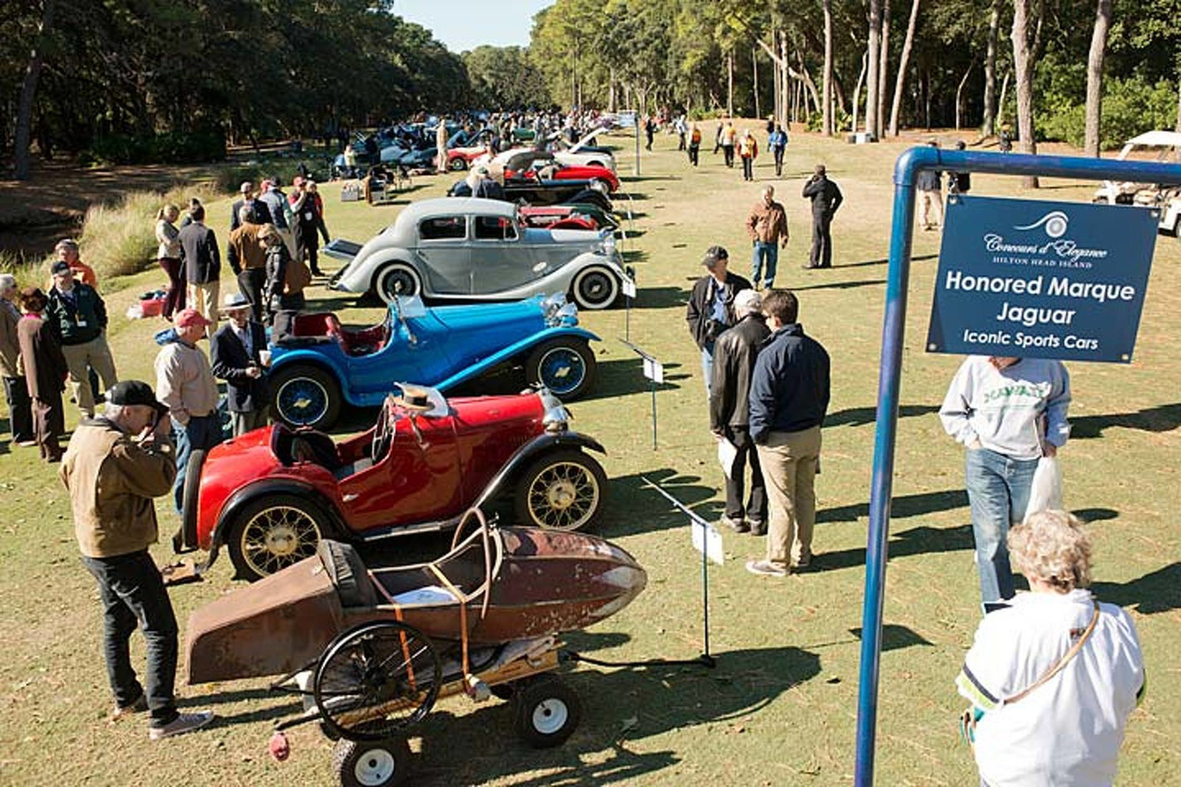 Classic Cars Take Center Stage at Hilton Head Island
