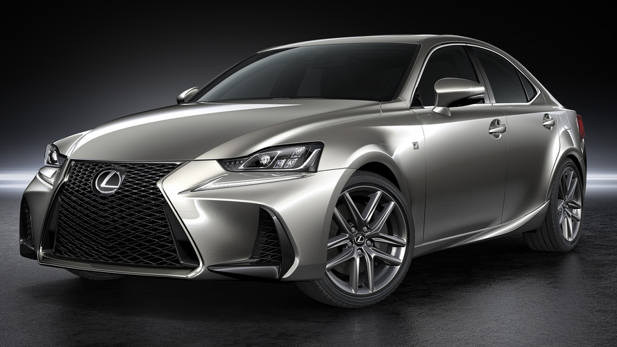 Lexus IS facelift unveiled in Beijing