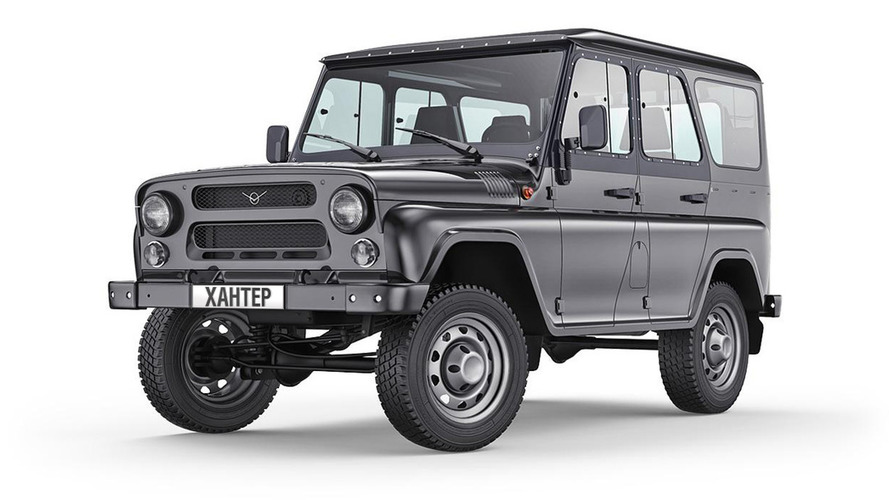 UAZ Hunter - le Defender russe