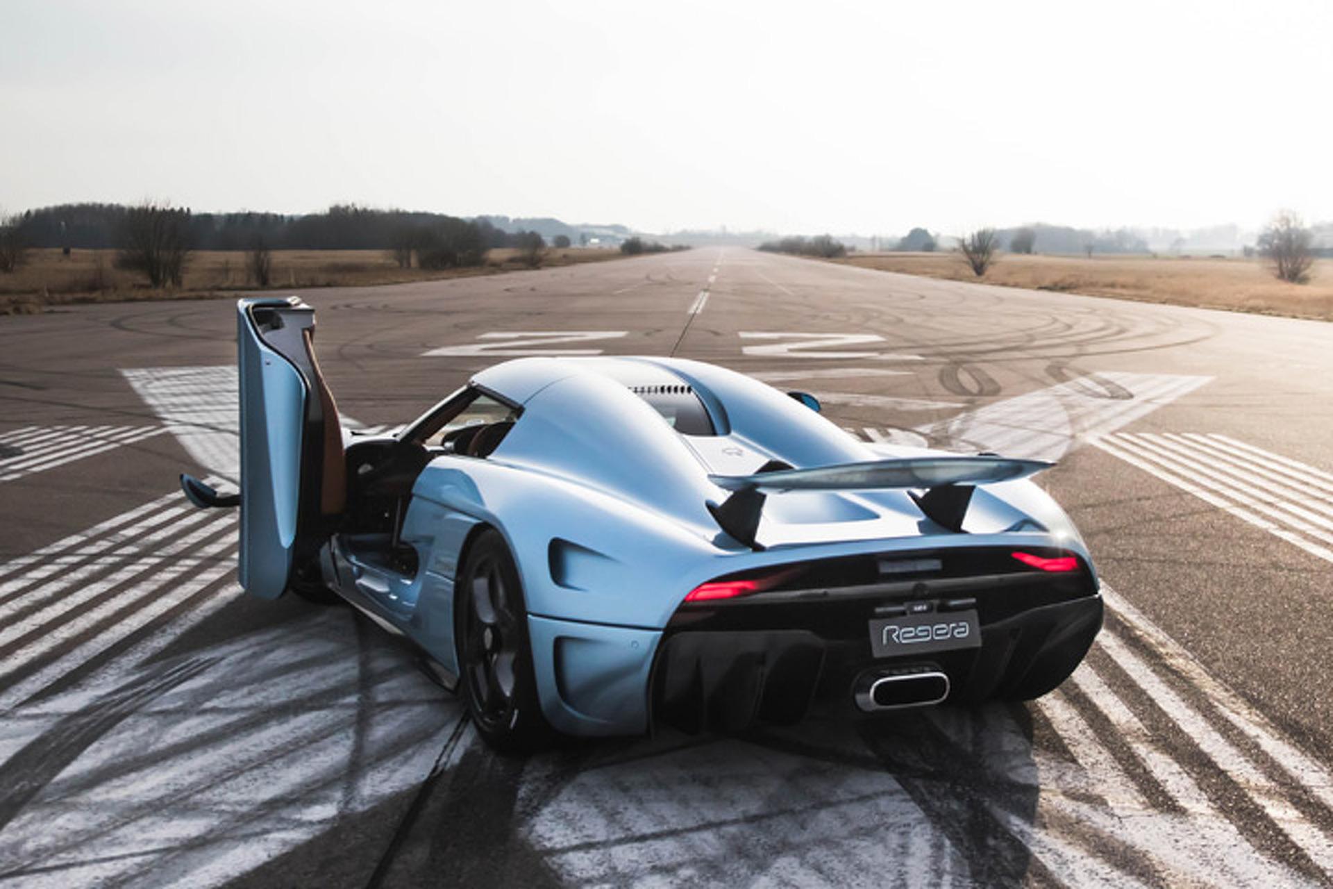 The 1,500HP Koenigsegg Regera Hypercar Gets a $2.3 Million Price Tag