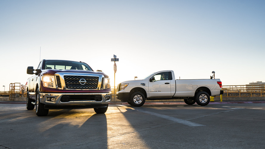 Nissan prices new single-cab Titan trucks