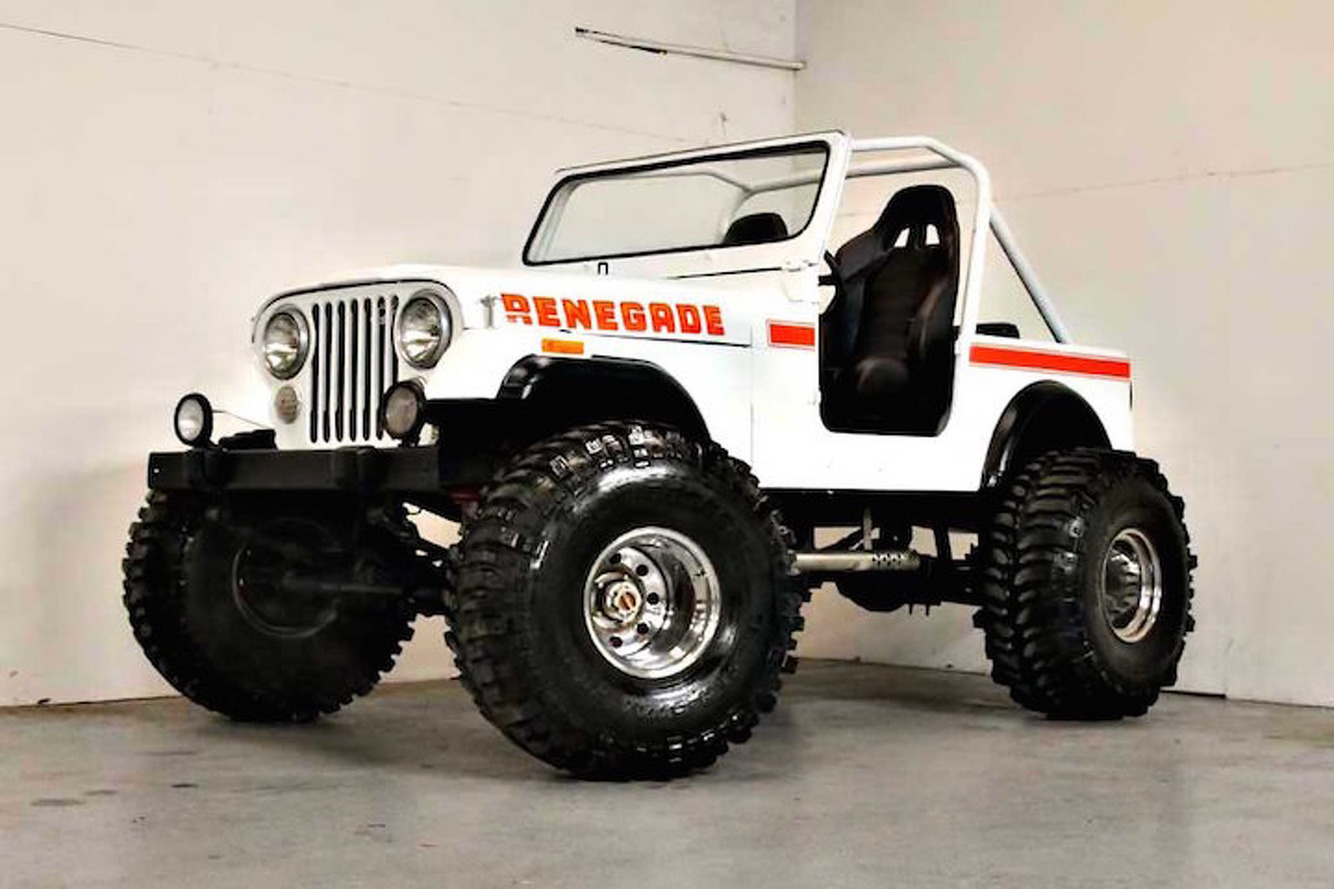 This 1980 Jeep CJ7 Renegade Restomod is the Business