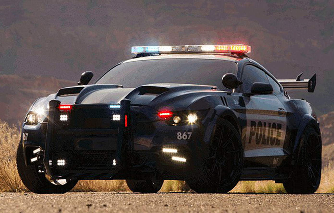 Barricade Returns to 'Transformers 5' as a New Ford Mustang
