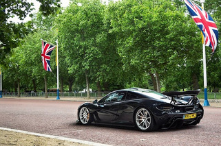 McLaren P1 Spotted in London, Filming for Top Gear? [UPDATE] Yep, Top Gear