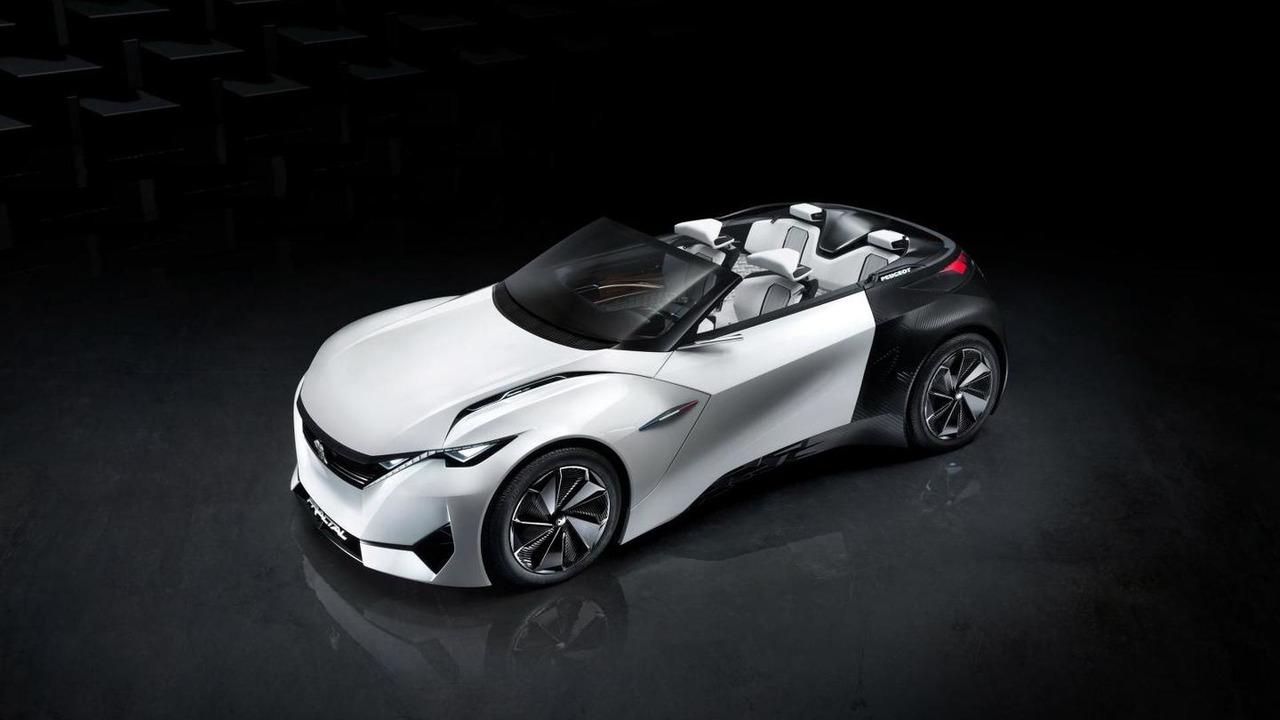 Peugeot Fractal concept leaked image / AutoWP