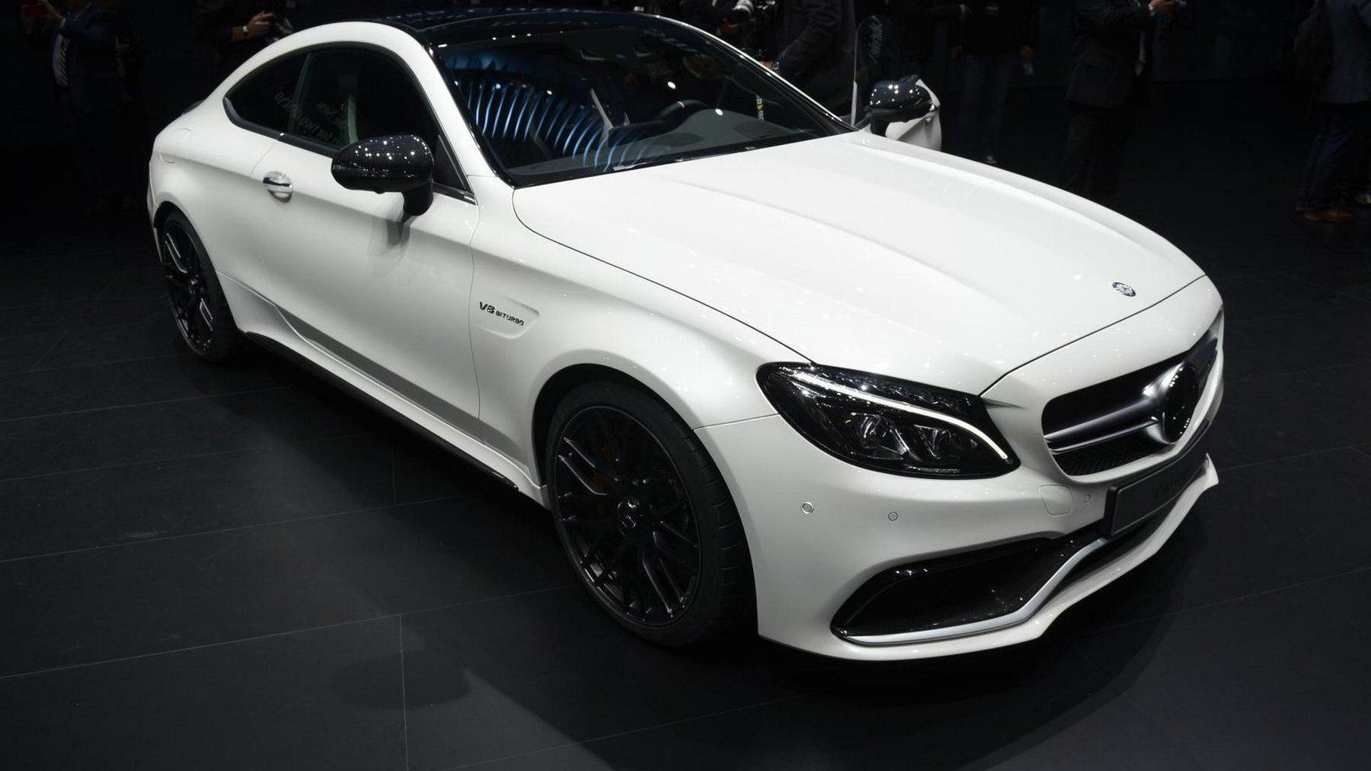 Mercedes C Class Coupe Lineup Unveiled With Up To 510 Ps