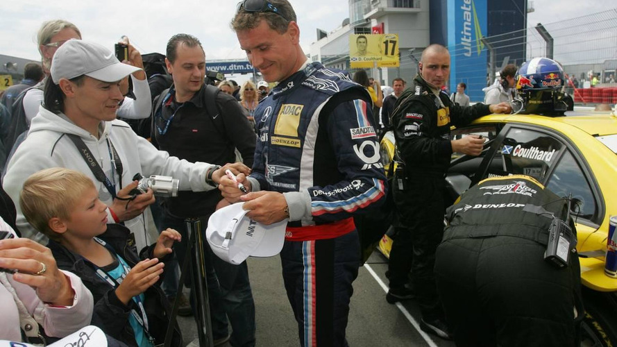 Coulthard keen to stay in DTM category