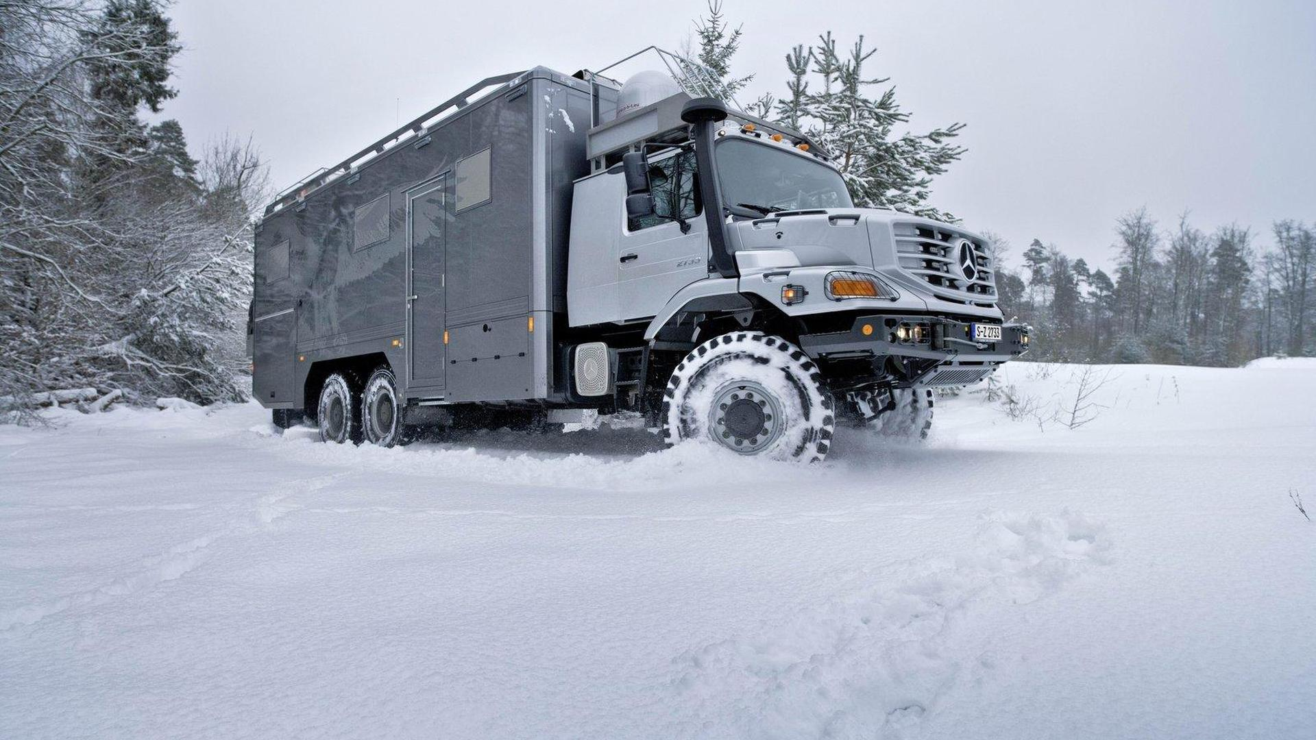 Mercedes Benz Zetros 6x6 Truck For The Mongolian Outback