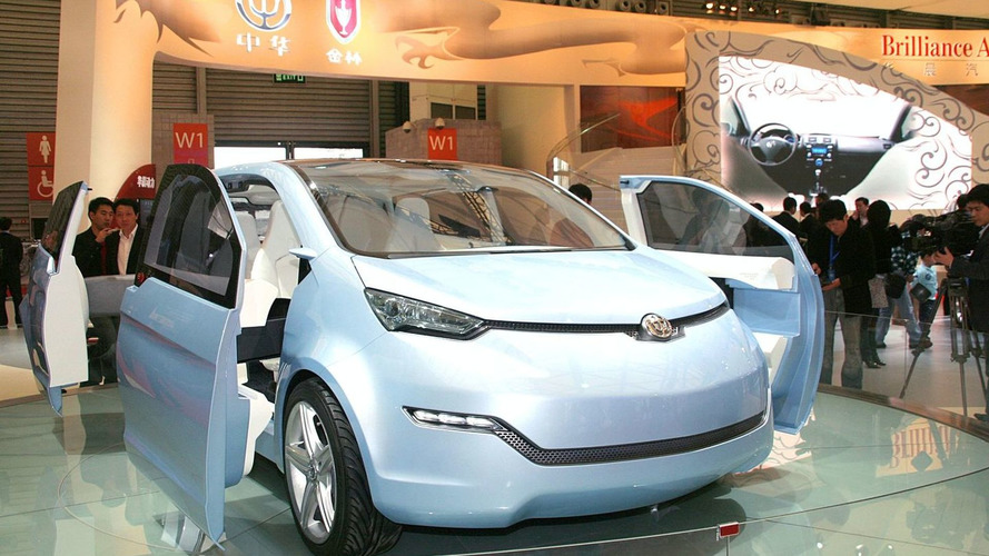 Brilliance unveils Electric Vehicle Concept in Shanghai