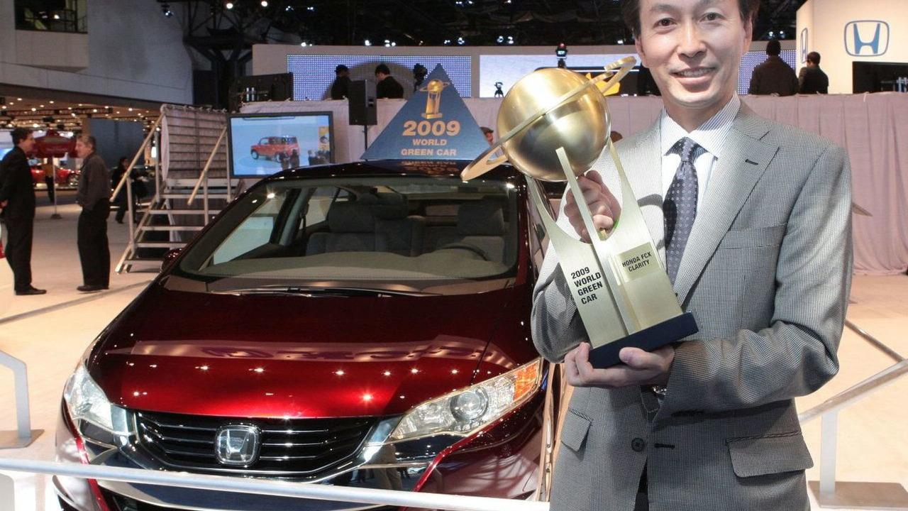 Honda FCX Clarity - 2009 World Green Car Award Winner