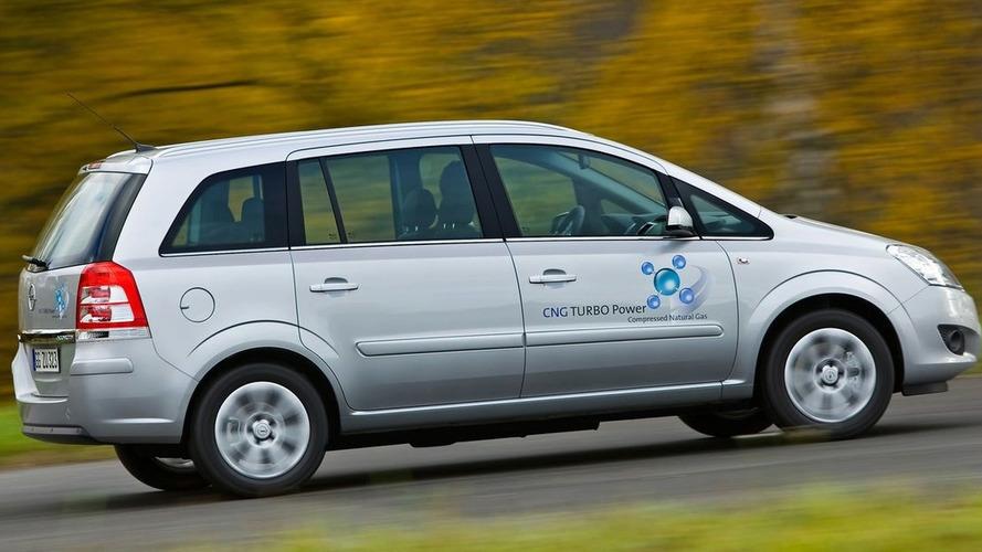 Opel Zafira 1.6 CNG Turbo to Debut at Bologna