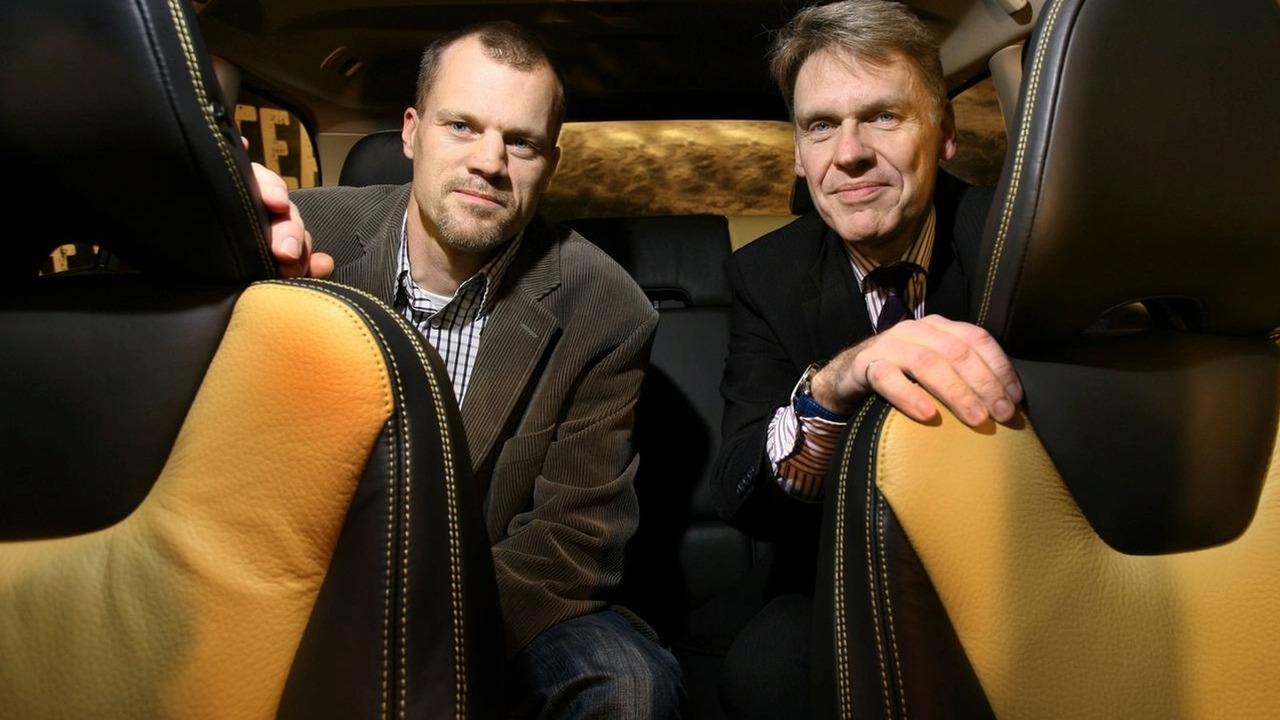 Paul Welander and Andreas Andersson with Oeko-Tex certified interior textiles