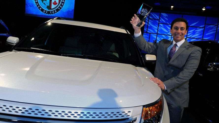 Chevy Volt & Ford Explorer win 2011 North American Car and Truck of the Year