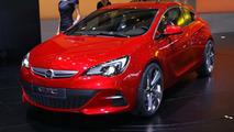 Opel GTC Paris Concept live in Paris 30.09.2010