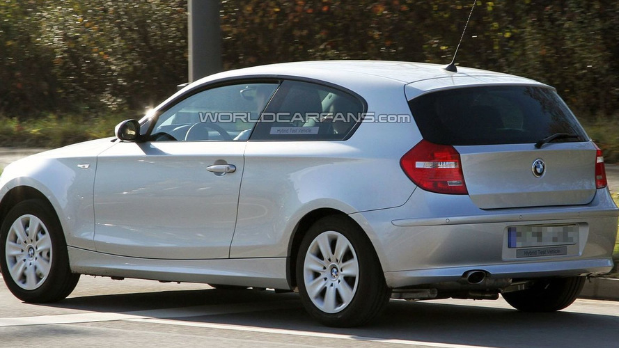 BMW 1-Series Hybrid Spied for First Time