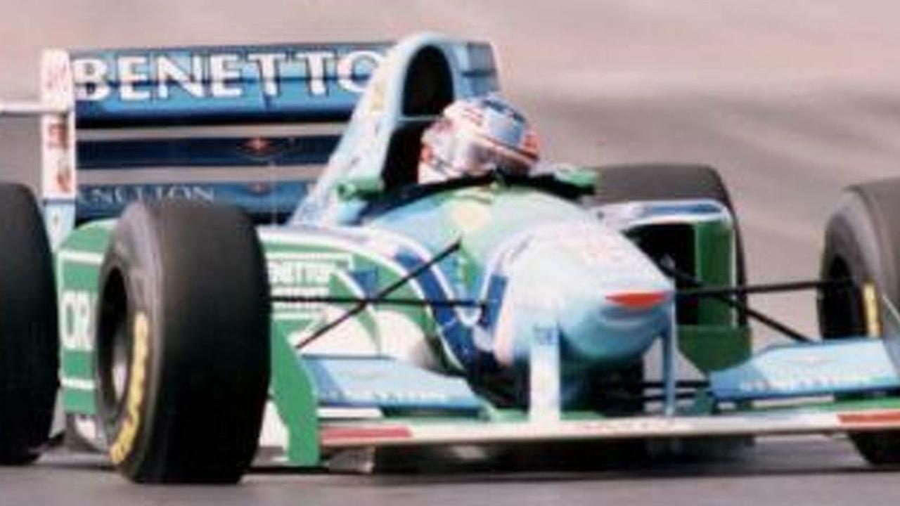 Michael Schumacher's title-winning 1994 Benetton F1 car