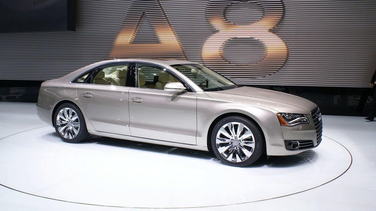 2011 Audi A8 Sedan at 2010 NAIAS in Detroit