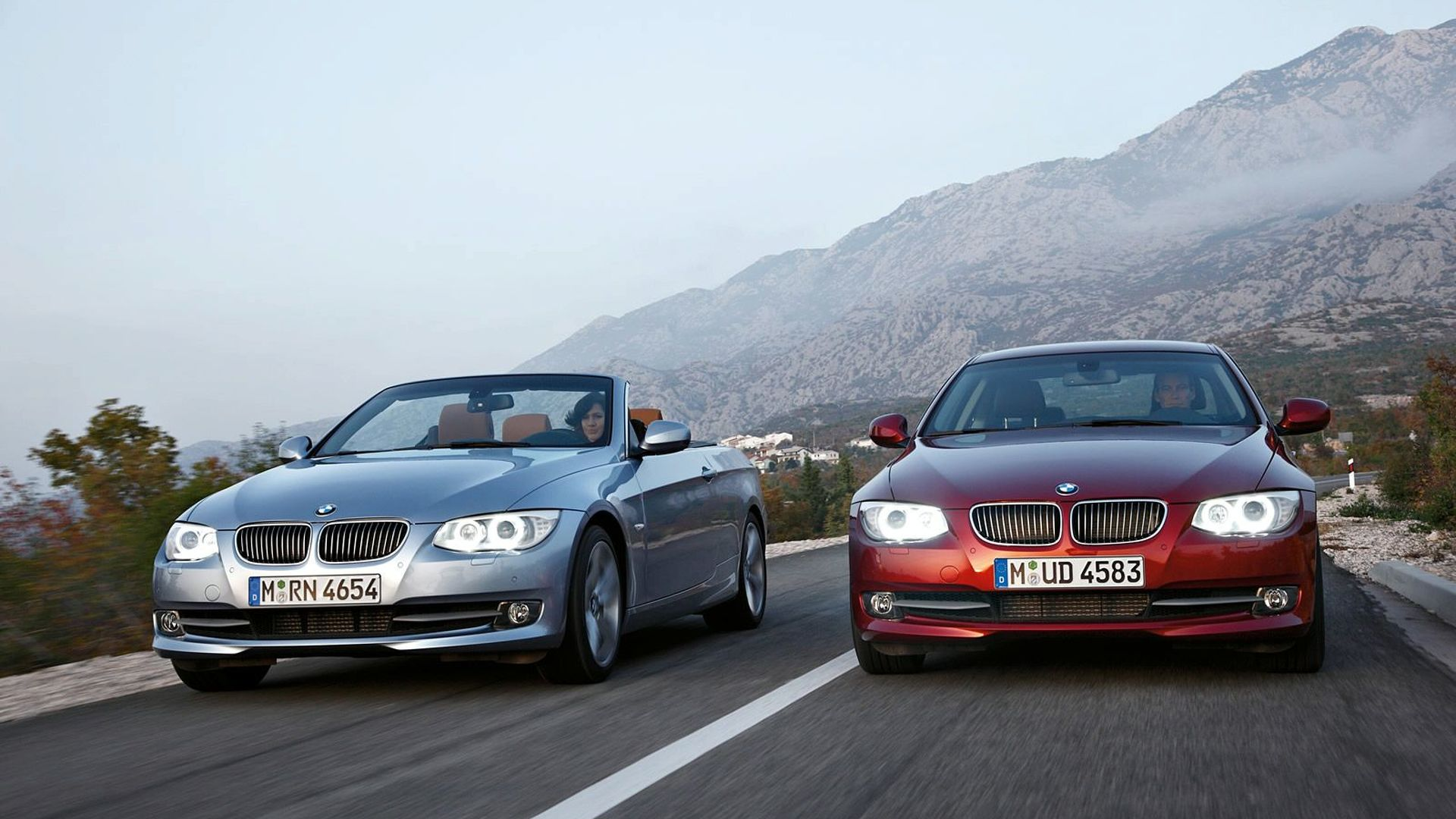 2011 Bmw 3 Series Coupe Convertible Facelifts Revealed