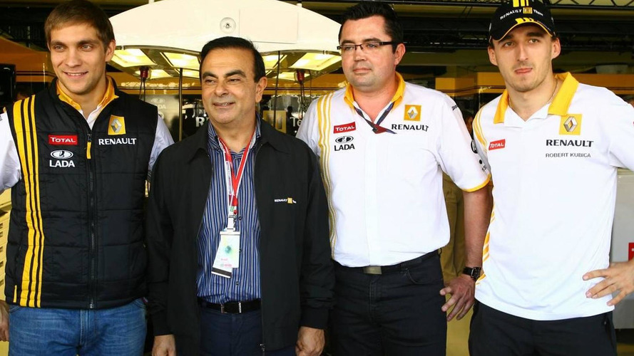 CEO Ghosn admits changes in Renault F1 involvement
