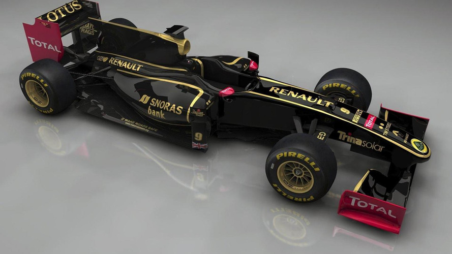 Lotus Renault GP team announced