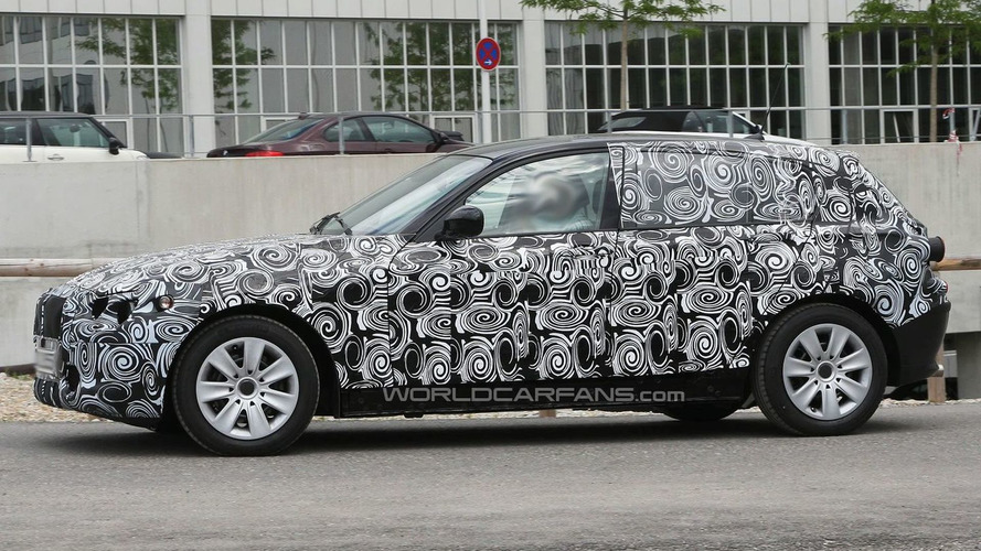 2011 BMW 1-Series 5-dr Prototype Spied