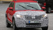 Skoda Kodiaq RS facelift spy photos
