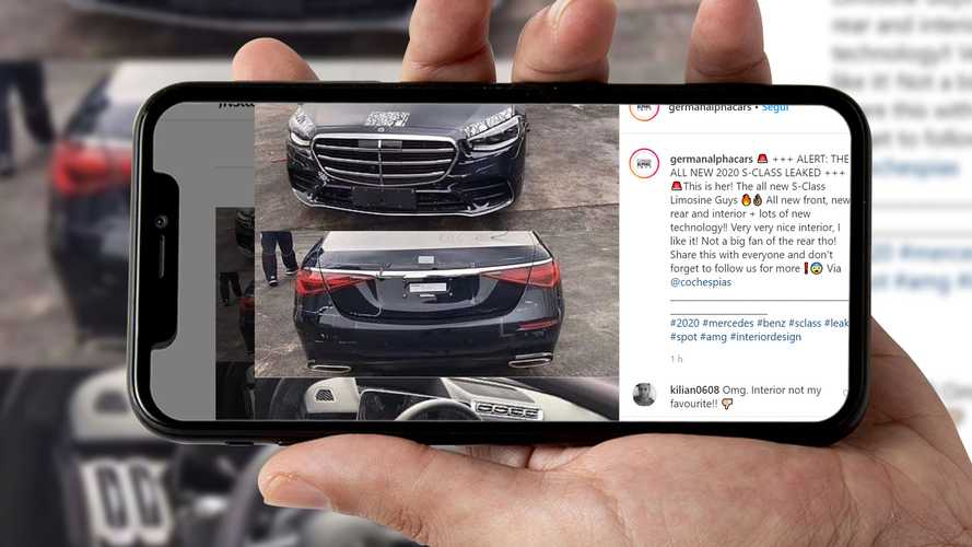 Mercedes Classe S, su Instagram sfuggono le foto di quella definitiva