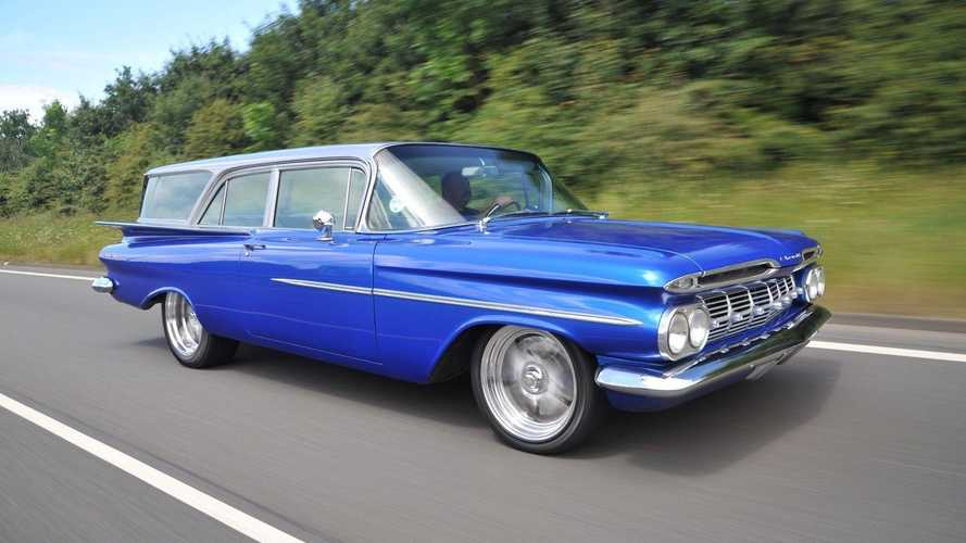 1959 Chevrolet Brookwood for sale: A practical lowrider?