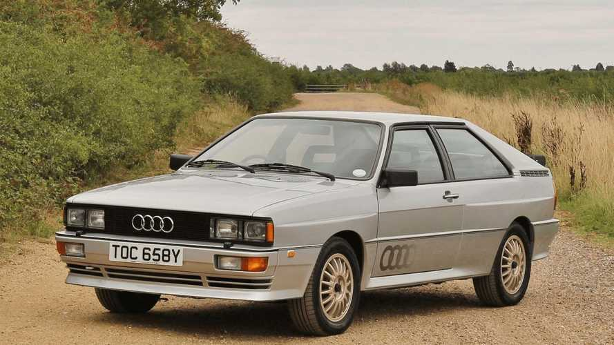 Pre-Production Audi Quattro Prototype up for sale!