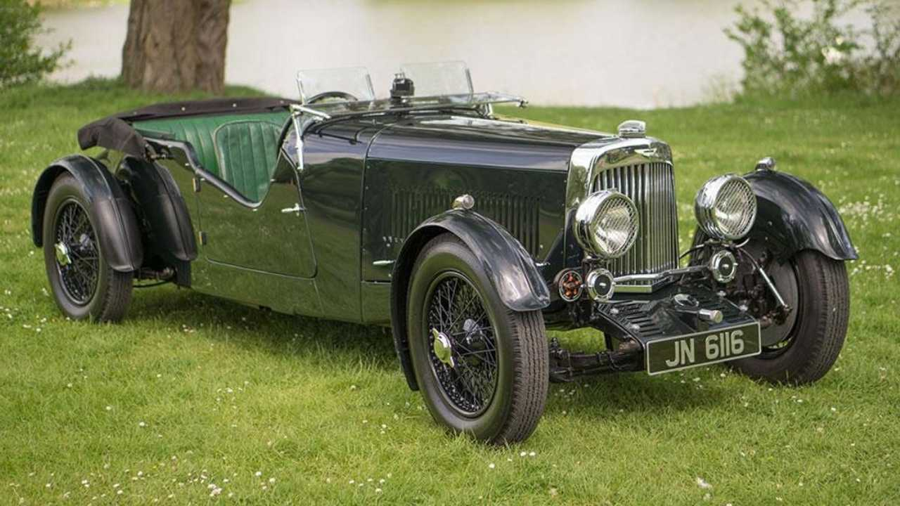 Classics for sale: 1934 Aston Martin Mk2 Long Chassis