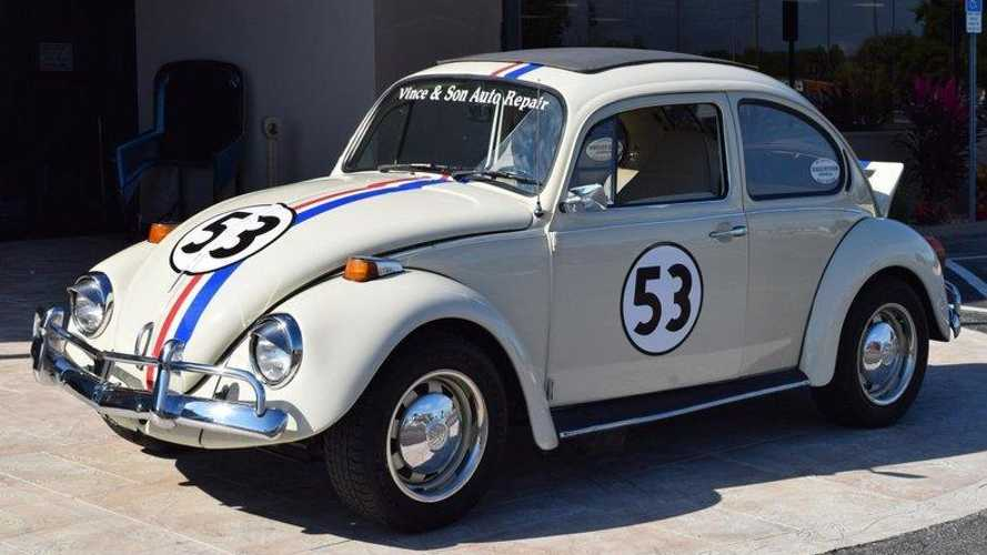 Real life functioning Herbie Volkswagen up for grabs!