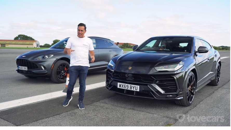 VIDÉO - L'Aston Martin DBX peut-il battre le Lamborghini Urus ?