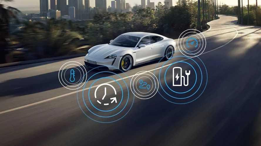 Porsche Taycan Model Year 2021